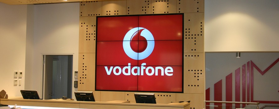 Video Wall For Vodafone A Big Hit Vision 2 Watch